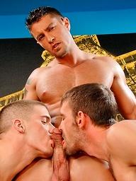 Cody Cummings, Ty Roderick and Joe Parker fuck