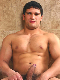 Gregorio Guerrero shows his perfect muscled body