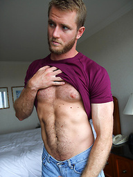 Blond, Hairy and Muscles - Drake has it all