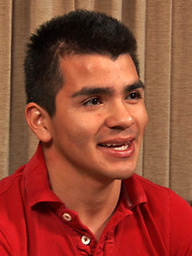 Francisco is a young and energetic. He's very charming with a cute set of dimples and a sweet smile.