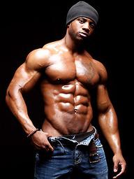 Ebony bodybuilder Varik Best