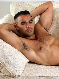 Muscled italian men Andre jacking off