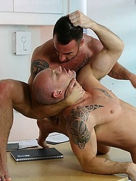 Courier fucked. Kurt Rogers and Ross Rogers