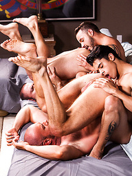 Hot foursome - Lads Fucking Dads