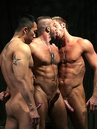Hunter Marx, Casey Daniels, Archer Quan, Troy Daniels and Jayden Grey group sex
