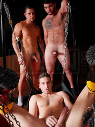 Tony Hunter, Tony Paradise and Randy Star