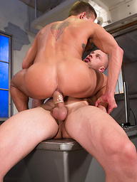 Hot House � Hard Time (Scene 2). Angelo and Alexander Gustavo.