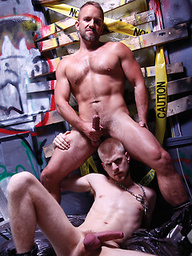 Dirk Caber Dominates Blond Bottom Logan Stevens