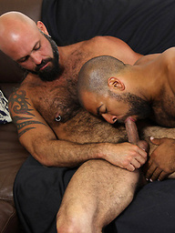 Roman Wright fucking muscled bear Marco Rios