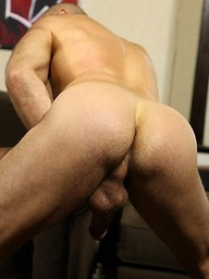 Nick Forte plays with his cock