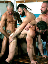 THE GAME. Starring JAKE GENESIS, ISSAC JONES, WILFRIED KNIGHT, SAMUEL COLT & MORGAN BLACK
