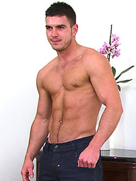 Straight, Hung, Muscular, Hairy, Cheeky - No Wonder Patrick is Member's Favourite!