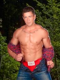 Trenton Ducati: naked lumberjack