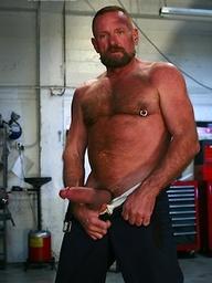 Hairy mature bear Rob Lawrence