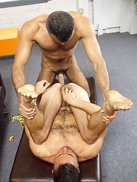 Muscled hunks Conner Habib and Sami Damo fucking