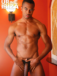 Black Stud Sean Xavier and Sexy Wolf Drake Jaden Piss and Fuck with Toys