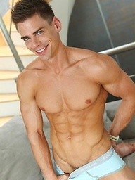Super hot euro boy Lorenzo Gray Pin-Up