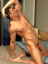 Romario Faria jerking off dick
