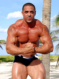 Great muscleman Eddie Camacho