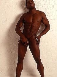Ebony sailor naked