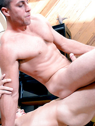 Teen Muscle All-Star Kyle Dean FUCKS His Coach Derek Jones