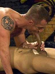 King size dick, Scene 2. Muscled ass fucked.