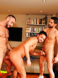 Spencer Reed, Dominic Pacifico and Billy Baval