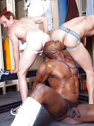 Alexander Garrett, Diesel Washington and Steven Ponce