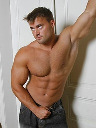 Bodybuilder Tomas Masek gets naked and shows all