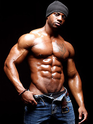 Ebony bodybuilder Varik Best