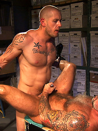 Harley Everett and Nate Pierce Surveillance Scene 2