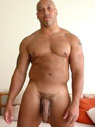 Sam X Hung - black muscle man