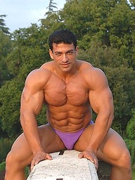 Tarek posing outdoors