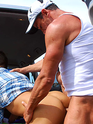 Troy and Chad fucking in Austalia's bush
