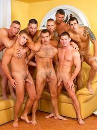 Euro studs orgy