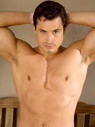 Antton Harri posing naked