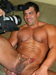 Vince posing naked