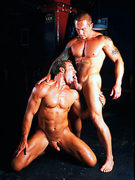 Cannon and Jake Andrews muscle men sex