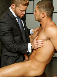 Deliver me to temptation. Starring Landon Conrad and Dato Foland