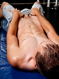 Stephen Brooks has an amazing body so we shot him in the Randy Blue gym so you can see him in his natural territory.