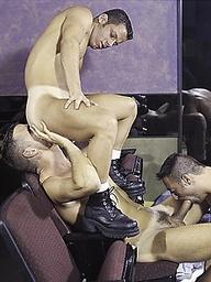 Muscle studs fucking