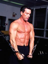 Sexy fitness model Gage Mason