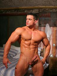 Hot muslced dude Macho Nacho