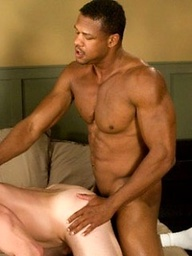 Aron Ridge and Dillon Crow - interracial fuck