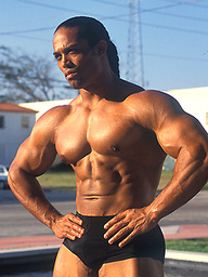Emilio Santana, hot latino bodybuilder