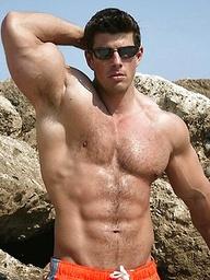 Hot muscular body