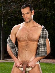 Ralph Hudson posing outdoors