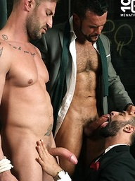 TIE HIM UP, Starring Denis Vega, Paco & Caleb Roca